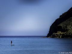 aguas traquilas (Cabo de Gata) (joluardi) Tags: espaa cliff andaluca spain es almera cabodegata acantilado mediterrneo mediterraneansea andalucia