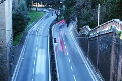 Via del Muro Torto (SS) Tags: road street city italy roma pentax handheld lazio k5 smcpentaxm50mmf17 murotorto