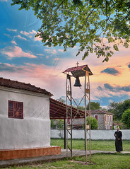 ...    ... resize (Dimitil) Tags: sunset church clouds bell religion priest nomi trikala thessaly celebtration ascensionofchrist saariysqualitypictures