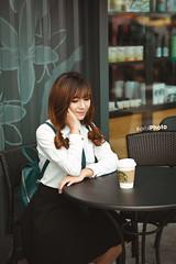 E23 (erik_bui_89) Tags: woman cute student nikon human beautifull emart