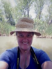 River selfie (EllenJo) Tags: arizona selfportrait river pentax tube raft verderiver riparian sundayafternoon june5 clarkdale 2016 ellenjo summerinarizona ellenjoroberts tuzigootbridge tuzirap pentaxqs1 cruisingdowntheriveronasundayafternoon