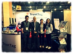 Thank you for visiting us at NRF 2016 (trusttagtech) Tags: for us you thank visiting nrf 2016
