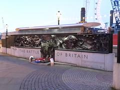 160417-202351 (The Battle of Britain) (Bus Buster UK) Tags: london thames river memorial war britain battle warmemorial riverthames embankment battleofbritain thebattleofbritain