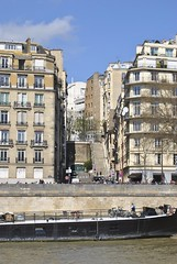 Street scene (carolyngifford) Tags: paris riverseine