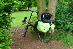 """""""Look at the load on that!"""" (beqi) Tags: bike bicycle yorkshire luggage lightning recumbent 2016 p38 exped swallowhall"""
