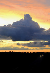 The Build-Up (irishemilyrose) Tags: sunset sky cloud storm weather clouds colorful country thunderhead