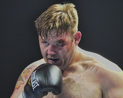 cut (John Rothwell) Tags: people sports face fight action cut michigan detroit boxer pro boxing detroitboxing