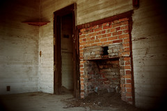 No...Not the corner...not the corner! (Mike McCall) Tags: usa georgia fire fireplace interior historic hearth emanuelcounty copyrightmikemccall copyright2016mikemccall