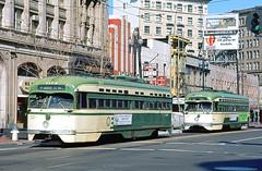 MUNI PCC 1122 (Chuck Zeiler) Tags: railroad muni transit streetcar 1122 pcc chz 1039