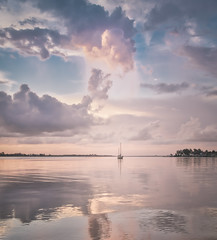 Heaven on Earth (justenoughfocus) Tags: boat us solitude unitedstates florida minimalism cloudscape bradenton dreamscape landscapephotography desotomemorial manateecounty sonyalpha macphun sonya7rii sonya7r2 aurorahdr