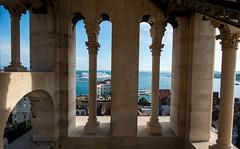 Diocletians Palace (el_boberino) Tags: seascape monument landscape nikon croatia palace cruiseship split diocletians nikon3200 d3200