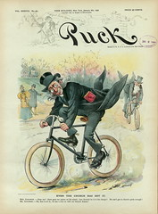 1896-01-08. Even the church has got it (foot-passenger) Tags: puck americanmagazine   1896   caricature loc libraryofcongress