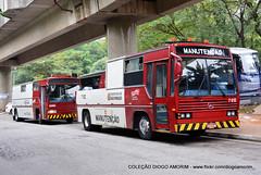 7 612 (American Bus Pics) Tags: caio maintence