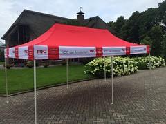 Quick Folding Tent - Schooltent (2) (Quick Folding Tent) Tags: school tent promotie reclame event solar project roc amsterdam quick folding vouwtent plooi