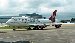 Virgin Atlantic 747 G-VROM at Manchester (Tim R-T-C) Tags: airplane manchester aircraft aviation boeing boeing747 747400 civilaviation manchesterinternationalairport gvrom