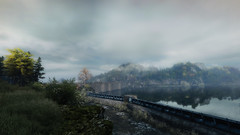 VOEC - 028 (Screenshotgraphy) Tags: sunset sky mountain lake game nature colors architecture clouds contrast montagne landscape pc screenshot lumire couleurs country lac ethan steam gaming ciel beaut carter concept nuages paysage vanishing campagne beautifull jeu naturelle urbain