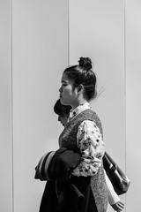 Dango Girl (aaron.ackerley) Tags: kyushu japan fukuoka street photography streetphotography blackandwhite