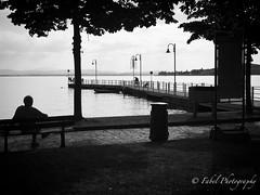 one Sunday a lake in black and white (fabriziobelia) Tags: blackandwhite bw italy lake streetphotography umbria trasimeno iphone