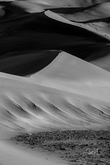 Bearclaw Drift (Travis Klingler (SivArt)) Tags: blackandwhite colorado greatsanddunes danballard