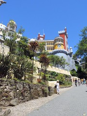 Pena Palace, Sintra, Portugal, June 2016 (leonyaakov) Tags: sintra portugal tourism travel castle park sunnyday summer architecture art holiday attraction palace inspiredbylove nikonflickraward