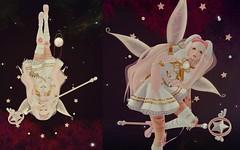 Fairy Hime (skyleroctober) Tags: pink school moon white flower rabbit bunny festival japan garden cherry stars japanese wings dress heart princess crystal sugar fairy somali crow sailor melon gen japonica mb hime usagi twc parfait guardians neutral cubic tsg gacha maitreya temari lcky konpeitou kreations