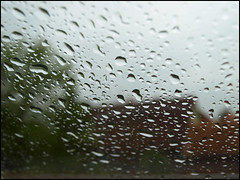 Day 127 (kostolany244) Tags: life houses window germany europe may waterdrops badweather day127 geo:country=germany olympuse510 kostolany244 3652013 365the2013edition 113picturesin2013 life2013 752013