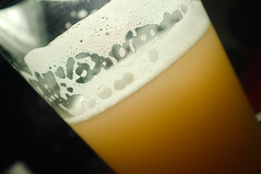 Written in Lace (Penzance) Tags: beer glass recipe all lace wheat grain ale yeast pint homebrew murky hefe bavarian weizen