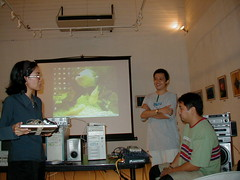At the end of the Talk (lionelvaldellon) Tags: 2001 talk updiliman dmf digitalmediafest