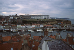 Whitby September 1970 (foxxyg2) Tags: harbour yorkshire whitby