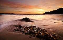 Just after sunset (Explored #71) (DannyBradley) Tags: seascape landscape nik