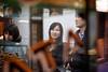 069 (Toni Jover) Tags: barcelona street old glass canon lens asian japanese prime store counter display f14 candid traditional bcn streetphotography sigma catalonia tourists quarter catalunya fotografia churro botiga 30mm ciutatvella aparador streetportraiture churrería xurro xurreria xurros japonesos