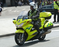 London Ambulance Service Honda St 1300 RO12 EWT (NottsEmergency) Tags: rescue bike honda trafalgarsquare ambulance medical motorbike solo vehicle emergency incident medic paramedic rider siren battenburg sirens bluelights responder emergencyservices responding londonambulanceservice londonambulance ambulanceservice hondast1300 fastresponsevehicle responsecar