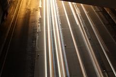 No Edit (Crystal_rivera) Tags: city longexposure bridge cars la losangeles dtla fwy