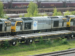 60032 Toton 08/06/2013 (37686) Tags: 5 66 class type tug 60 midlands ews toton railfreight dbschenker