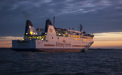 Barfleur 3 (D G Butcher) Tags: ferry boats harbour nightsky patrol poole moorings barfleur pooleharbourwatch