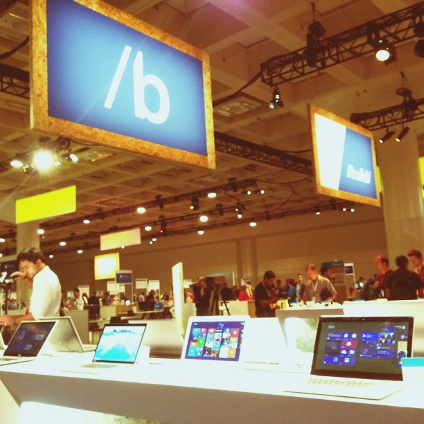 Microsoft Build. I like the cut of your jib Windows 8.1