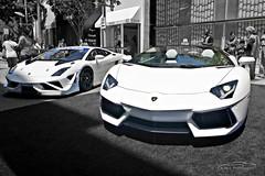 Aventador Roadster vs Gallardo SuperTrofeo (Alan T. Photography) Tags: yahoo flickr rollsroyce ferrari batman batmobile lamborghini supercars carporn luxury4play aventador lamborghiniaventador lamborghiniaventadorroadster