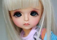 Little Cookie (Aya_27) Tags: yellow doll cookie sweet bjd dollfie dollie latidoll andreja faceup lati