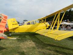 HA-AGA Schweizer-Grumman G-164 Ag-Cat (graham19492000) Tags: germany haaga agcat g164 tannkosh2013 tannheimairfield schweizergrumman