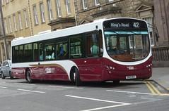 177 - SN13 BEJ (Cammies Transport Photography) Tags: road urban bus st square eclipse volvo coach edinburgh andrews kings wright 42 177 lothianbusescom sn13bej