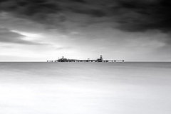 Dominion Cove Point (dK.i photography (counting down)) Tags: longexposure weather cloudy offshore maryland rainy infrared chesapeakebay calvertcounty lee09gnd covepoint lee06gnd leebigstopper dominioncovepointlng