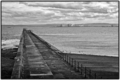Hartlepool / Redcar (wayman2011) Tags: bw coast seascapes piers cleveland redcar countydurham hartlepool northeastcoast canon50d