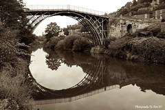 Reflecting At Ironbridge. (Bob.W) Tags: shropshire ironbridge mygearandme mygearandmepremium