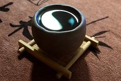道 (Yohmi) Tags: reflection cup water dao tao 道 茶杯 taijitu 太極圖