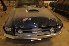 Hood Repair - Mustang
