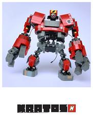 MDI.42_KRATOS (m_o_n_k_e_y) Tags: robot lego scifi mecha moc
