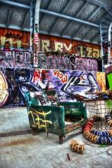Abandoned Swimming Pool (FilthyBean) Tags: urban abandoned pool photography graffiti ruins streetphotography swimmingpool forgotten urbanexploration graff barracks derelict urbanlife militarybase urbex abandonedplaces abandonedpool abandonedmilitarybase