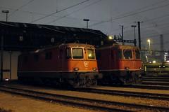 """""""s'alte"""" Depot F (hans.hirsch) Tags: sbb 420 f depot re zürich 44 ffs cff 11125 11172 lokdepot"""