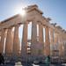 Partenon (Atenas, Grécia) Partenon é o nome do principal templo, erguido no século V a.C. na Acrópolis. Apesar do tempo, conflitos e poluição, ainda se encontra bastante bem preservado. Recentemente, o governo grego aprovou um programa gigantesco que pret