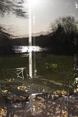 Orangery reflection   Wollaton Park Christmas 2013 - 27 (Paul Dykes) Tags: nottingham uk trees england lake reflection table chair location tudor batman mansion statelyhome wollatonpark wollaton orangery waynemanor eastmidlands wollatonhall filminglocation christophernolan thedarkknightrises
